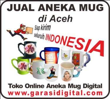 Jual Mug Digital di Aceh