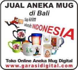Jual Mug Digital di Bali