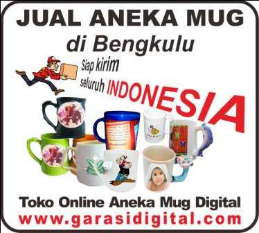 Jual Mug Digital di Bengkulu