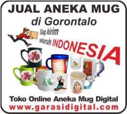 Jual Mug Digital di Gorontalo