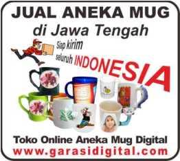 Jual Mug Digital di Jawa Tengah