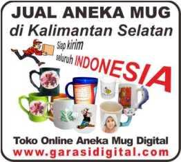 Jual Mug Digital di Kalimantan Selatan