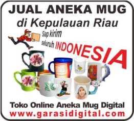 Jual Mug Digital di Kepulauan Riau