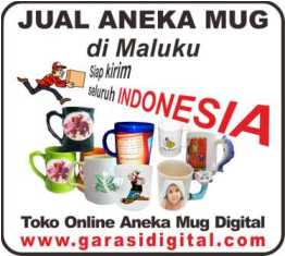 Jual Mug Digital di Maluku