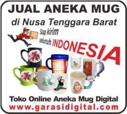 Jual Mug Digital di Nusa Tenggara Barat
