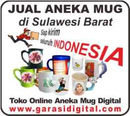 Jual Mug Digital di Sulawesi Barat