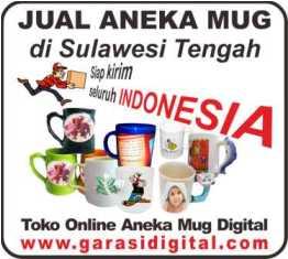 Jual Mug Digital di Sulawesi Tengah