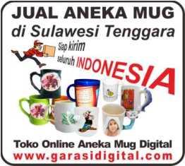 Jual Mug Digital di Sulawesi Tenggara