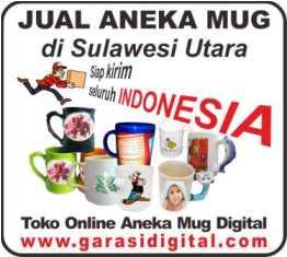 Jual Mug Digital di Sulawesi Utara