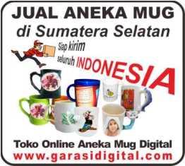 Jual Mug Digital di Sumatera Selatan