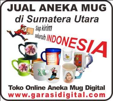 Jual Mug Digital di Sumatera Utara