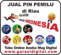 Jual Pin Pemilu di Riau