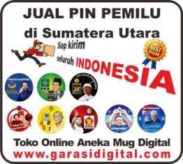 Jual Pin Pemilu di Sumatera Utara