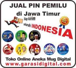 Jual Pin Pemilu di Jawa Timur