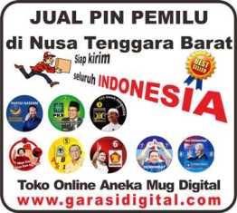 Jual Pin Pemilu di Nusa Tenggara Barat