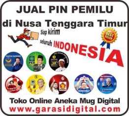 Jual Pin Pemilu di Nusa Tenggara Timur