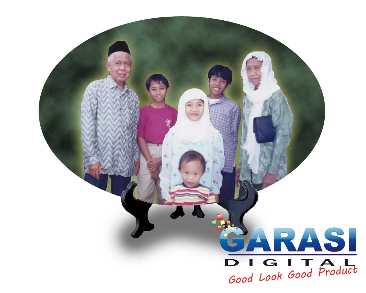 Keramik Digital Oval